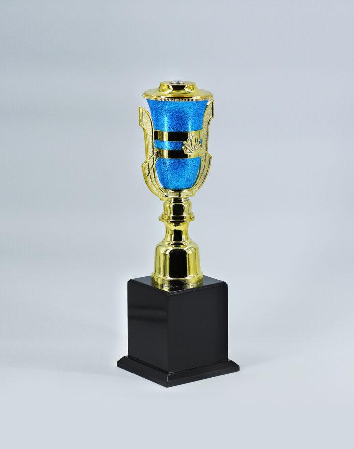 ถ้วยเสาเดี่ยว-155-สีฟ้า-เบอร์2