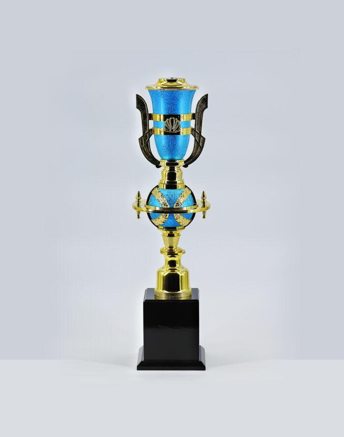 ถ้วยเสาเดี่ยว-155-สีฟ้า-เบอร์4