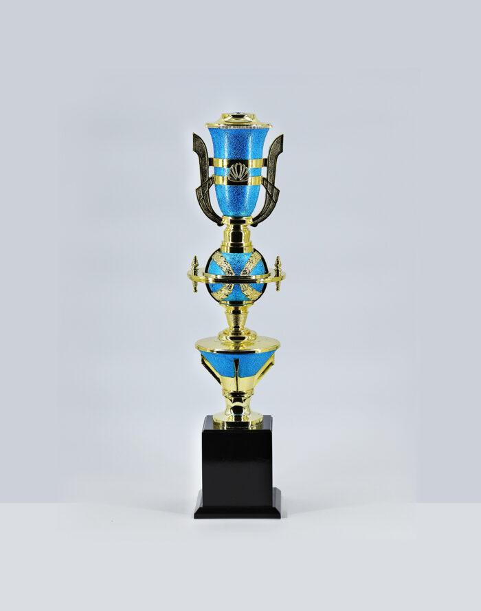 ถ้วยเสาเดี่ยว-155-สีฟ้า-เบอร์5